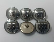 Genuine British Issue London Fire Brigade & Civil Large Buttons 38L 24.2mm NEW