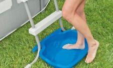 INTEX 29080 Washer Foot Cleaner Bath for Swimming Pool Ladder Anti-slip