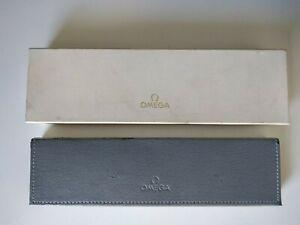 Vintage OMEGA WATCH Outer+Inner Box Caja Scatola Boite Estuche Case Etui Estoig