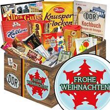 Ossi Weihnachtsgeschenk Nostalgie Süßigkeiten Box - Frohe Weihnachten 2926-Xbaum