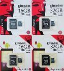 Kingston microSD SDHC 16GB 32GB class 10 UHS-1 microSDHC Karte mit SD Adapter