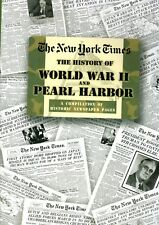 Rare NEW YORK TIMES History of WORLD WAR II & PEARL HARBOUR Compilation