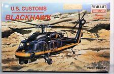 Minicraft 1:48 US Customs Blackhawk Plastic Aircraft Model Kit #11629 SEALED