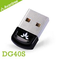 Avantree USB Bluetooth Adapters/Dongles Data Exchange, Music Stream DG40S
