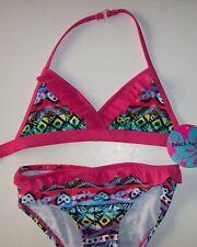 Beach Native Swimsuit Swimwear Girls Two-Piece Sz 6 Ruffles Assorted Colors New