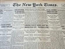 1926 JANUARY 9 NEW YORK TIMES VANDERBILTS GIVE UP ANOTHER 5TH AVE SITE - NT 5645