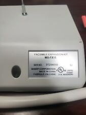 Sharp MX-FX11 Fax board COMPLETE, TESTED, FIRMWARE UPDATED.