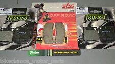 kit pastiglie anteriori + posteriori Yamaha Grizzly 660 2002-2008 quad atv