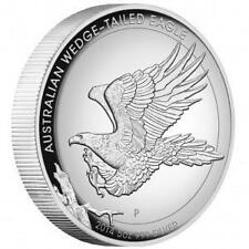 2014 AUSTRALIA WEDGED-TAILED EAGLE 5 OZ 99.9% $8 SILVER PROOF HIGH RELIEF COIN