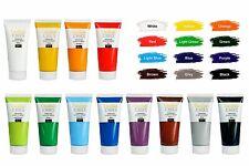 Creative Deco Acryl-Farben Set   12 x 100 ml Tuben   Künstlerfarben Malfarben