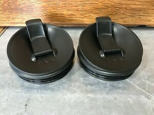 2 Genuine Replacement Nutri Ninja Professional Sip & Seal Flip Top Cup Lids