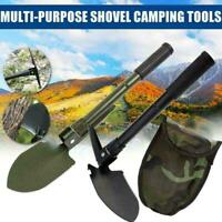 Multifunction Folding Shovel Outdoor Camping Spade Compass With W2T1 B5B6