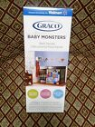 NEW GRACO Baby Monsters Wall Decals 4 Sheets Self Stick Nursery Removable