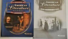 Abeka American Literature Textbook & Quiz/Test Key CURRENT 4th Edition  11th Gra
