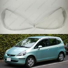 Honda FIT / Jazz OEM Headlight Glass Head lamp Lens Plastic Cover (PAIR)