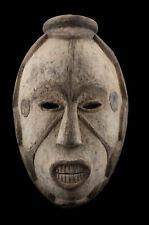 Masque Igbo Africain Ibo Agbogho Mmuo Nigéria Art tribal Primitif 16893