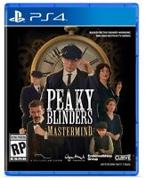 Peaky Blinders: Mastermind for PlayStation 4 [New Video Game] PS 4