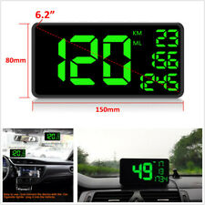 Universal Car Speed Warning GPS Digital Head Up Display HUD Speedometer Alarm