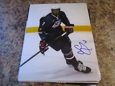 SETH JONES SIGNED 8X10 MATTE PHOTO NASHVILLE PREDATORS (B) COLUMBUS BLUE JACKETS