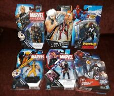 "Marvel Universe legends  3.75"" figures Lot 6 deadpool venom wolverine cable"