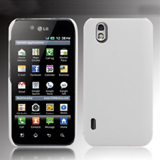 Case in PVC White for LG P970 Optimus Black