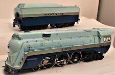 PACIFIC FAST MAIL TENSHODO BRASS HO 3460 ATSF BLUE GOOSE 4-6-4 C-7 ORIGINAL BOX