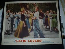 LATIN LOVERS, orig 1953 LC #7 (Ricardo Montalban, Lana Turner) - Samba dance