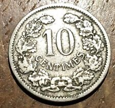 PIECE DE 10 CENTIMES LUXEMBOURG 1901 MICHAUX (206)
