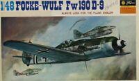 Fujimi 1:48 Focke Wulf Fw-190 D-9 Plastic Aircraft Model Kit #5A14U