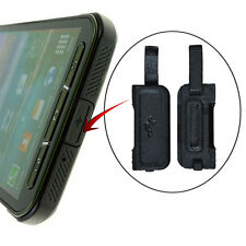 Black USB Charger Port Dock Dust Cover Part For Samsung Galaxy S5 Active G870A