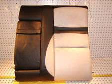 Mercedes 99 C43 AMG rear seat L inner section leather Black/ white back 1 Cover