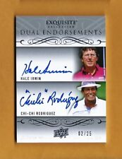 CHI CHI RODRIGUEZ,HALE IRWIN-13 Exquisite Dual Endorsements (#2/25) AUTO-GEM?