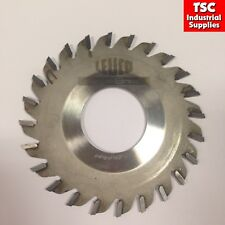 Leuco Conical Scorer 125 x 45mm x 24 Teeth with 4.4mm/5.4mm Kerf TCT Tipped