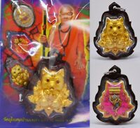 Thai Amulet Prai Millionaire Pendant Charm Luck Fortune Love Ghost Kruba Phon