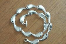 Collierkette Sterling Denmark H.S. Hermann Siersbol 925 Silber