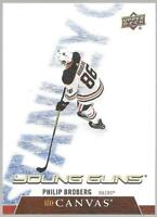 2020-21 Upper Deck Young Guns Philip Broberg UD Canvas Rookie # C95 NM/MT RC