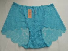 DressNStyle NWT VICTORIA'S SECRET Lace Lacey SEXY Light Blue Panty Underwear XL