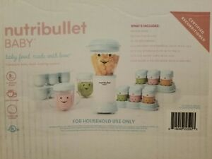 Nutribullet Baby The Complete Baby Food Prep System Reconditioned Pop Freezer