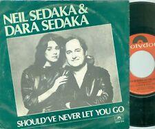 NEIL SEDAKA & DARA SEDAKA -SHOUDN'T NEVER LET YOU GO ( DUTCH 7;PS ) 1980