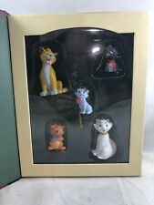 DISNEY STORYBOOK CHRISTMAS COLLECTION THE ARISTOCATS ORNAMENT SET