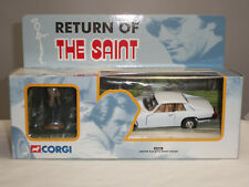 CORGI 57404 RETURN OF THE SAINT WHITE JAGUAR XJS DIECAST MODEL CAR + FIGURE