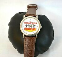 """Vintage 1993 The Beatles """"HELP!"""" Watch with British Flag~Apple Corp Ltd."""