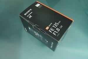 Sony SEL135F18GM 135mm Top Teleobjektiv ! Neu MWSt Ausweis
