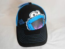 COOKIE MONSTER Baseball Cap YOUTH Adjustable Sesame Street Coppertone UPF 50