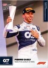 ➠ Topps Now Formula 1 #17 Pierre Gasly seals first podium of 2021 - AlphaTauri