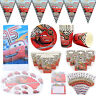 Cars Theme Birthday Party Decoration Tableware Range (Plates Cups Banner etc)