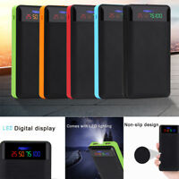 2.1A Dual USB Power Bank Case 4/6*18650 Battery Charger DIY Box Case Kit for Pho