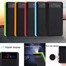 2.1A Dual USB Power Bank Case 4/6*18650 Battery Charger DIY Box Case Kit*