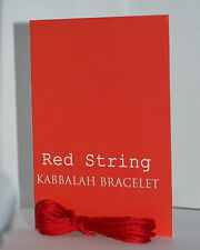 RED STRING KABBALAH LUCKY BRACELET with Prayer Card Against Evil Eye Bestseller