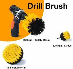 Shower Cleaning Drill Brush Set - Power Scrubber Brush Set for Bathroom
